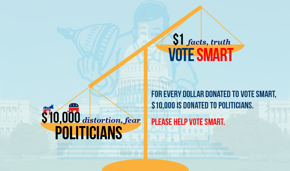 Donate to Vote Smart.
